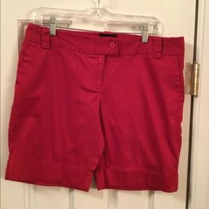 The Limited Cassidy Fit Red Walking Shorts